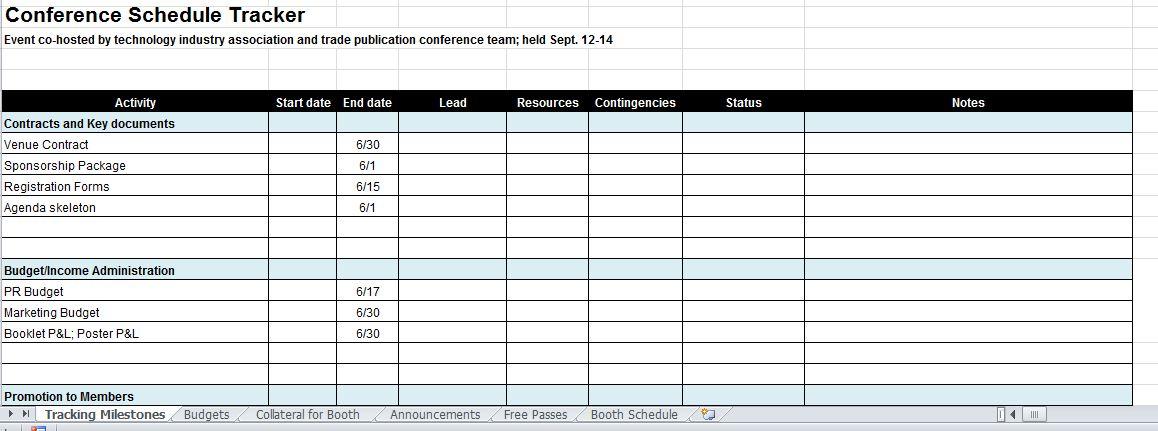 Event Budget Template Excel  TvsputnikTk