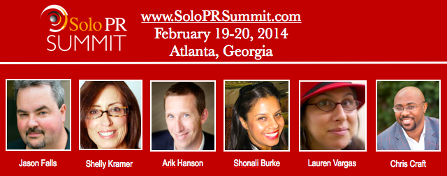 Solo PR Summit Featured Speakers