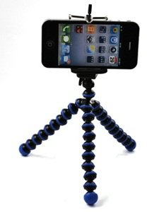 iphone on tripod