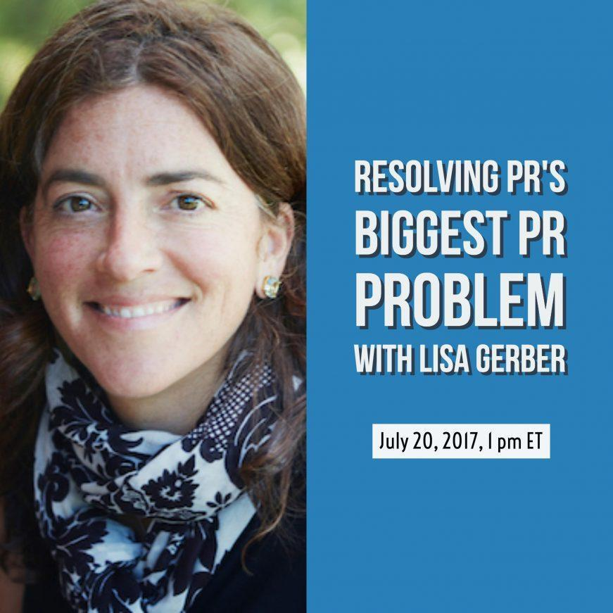 Lisa Gerber PR Measurement Webinar